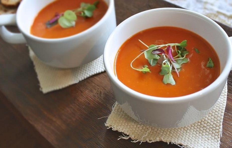 Idealny Obiad Na Piątek Zupa Krem Z Pomidorów