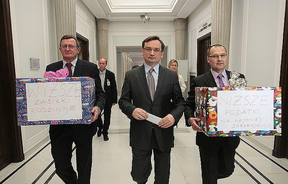 SP: wyższe podatki dla bogatych; ulgi dla rodzin
