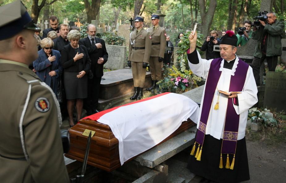 Pogrzeb Teresy Walewskiej-Przyjałkowskiej