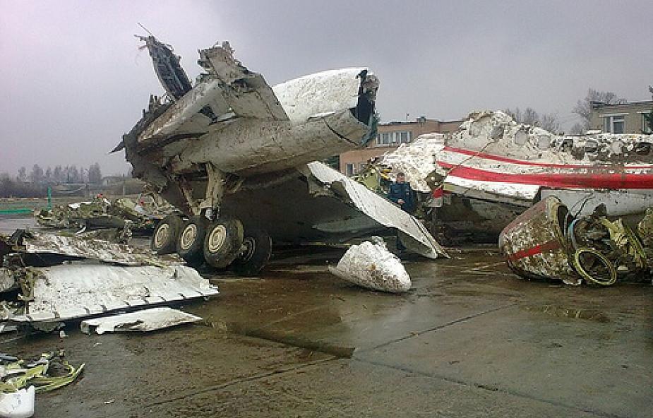 Dostaniemy... próbki z wraku Tu-154M