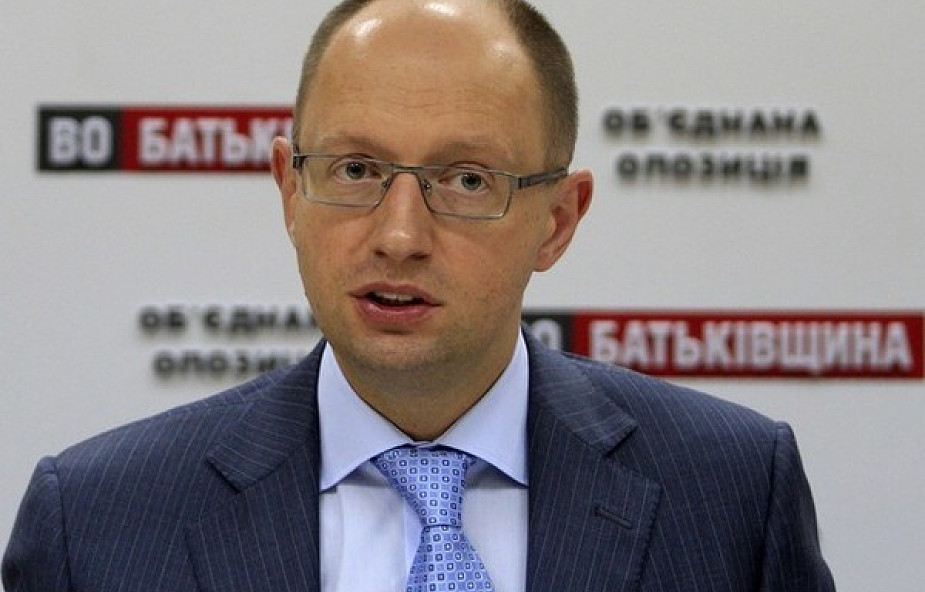 Rozmowy Jaceniuka o sytuacji na Ukrainie