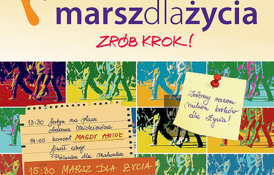"""Marsz dla Życia 2014 """"Zrób krok!"""""""