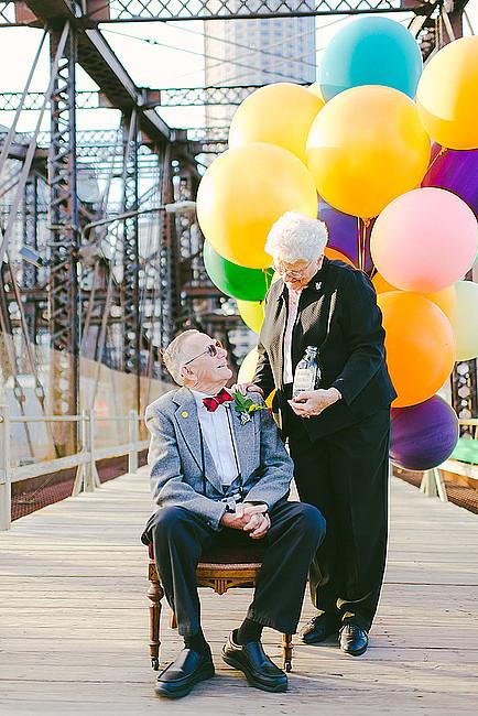 61 rocznica ślubu w ODLOTowym stylu - zdjęcie w treści artykułu