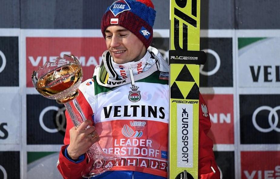 Puchar Świata w skokach - Kamil Stoch po raz 48. na podium - tym razem na najwyższym stopniu