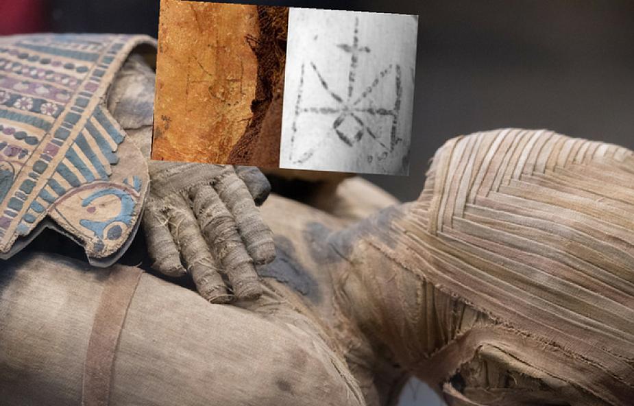 Odnaleziono Egipską Mumię Z Chrześcijańskimi Tatuażami