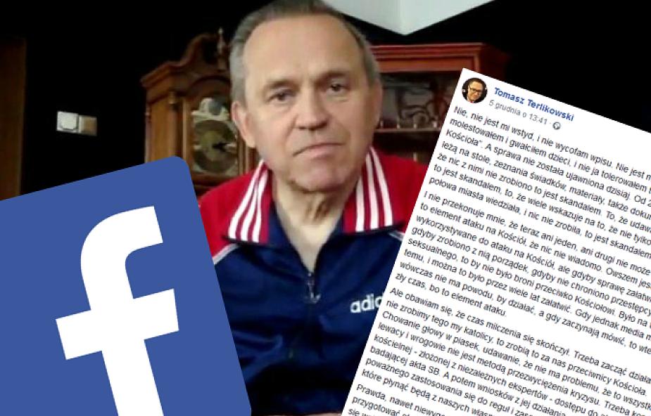 Terlikowski o sprawie ks. Jankowskiego:  gdyby nie chroniono przestępcy seksualnego, to by nie było broni przeciwko Kościołowi