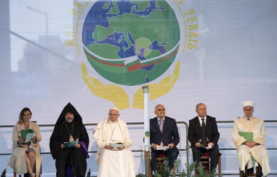 Franciszek w Sofii: każdy z nas może się stać budowniczym pokoju