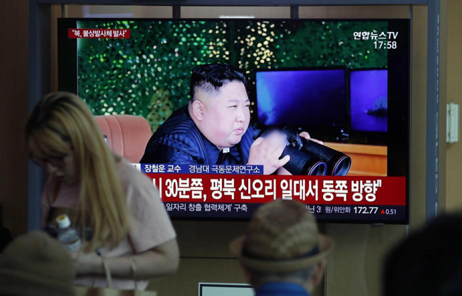 Prezydent Mun: test rakietowy Korei Północnej był aktem protestu