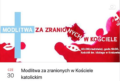 Kraków: świeccy zapraszają na modlitwę za zranionych w Kościele.
