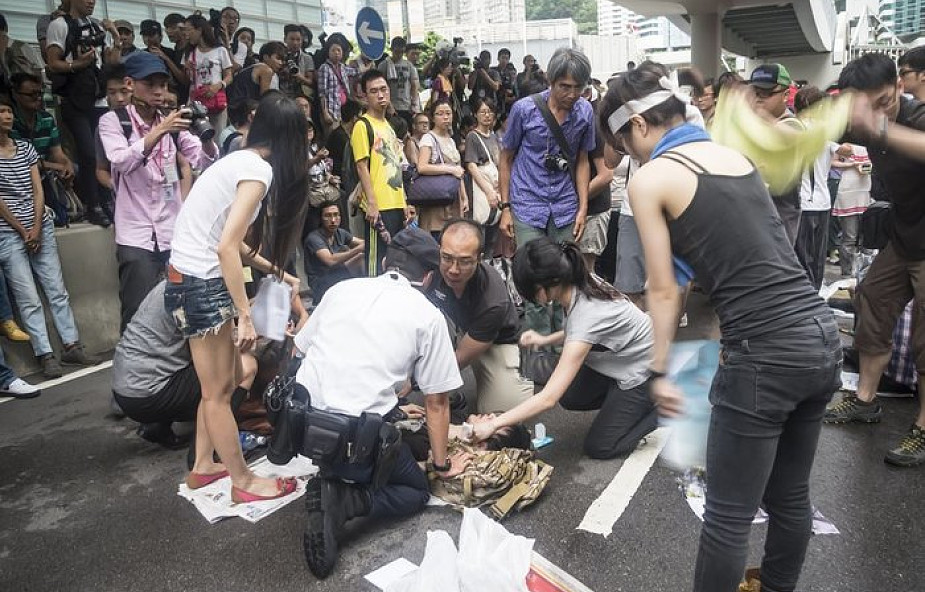 Kościół katolicki wspiera demokratyczne protesty w Hongkongu